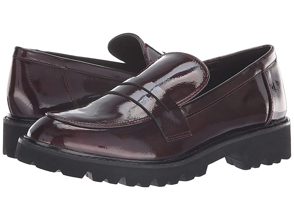 JANE AND THE SHOE Lottie (Burgundy Patent) Women