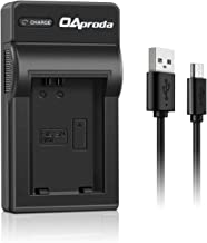 OAproda NP-FW50 Micro USB Battery Charger for Sony Alpha a7R, a7S, a7, a7RII, a7II, a7s II, a6500, a6300, a6000, NEX-3, NEX-5N, NEX-5, NEX-5R, NEX-5T, RX10, RX10II, RX10 III, RX10 IV Digital Camera