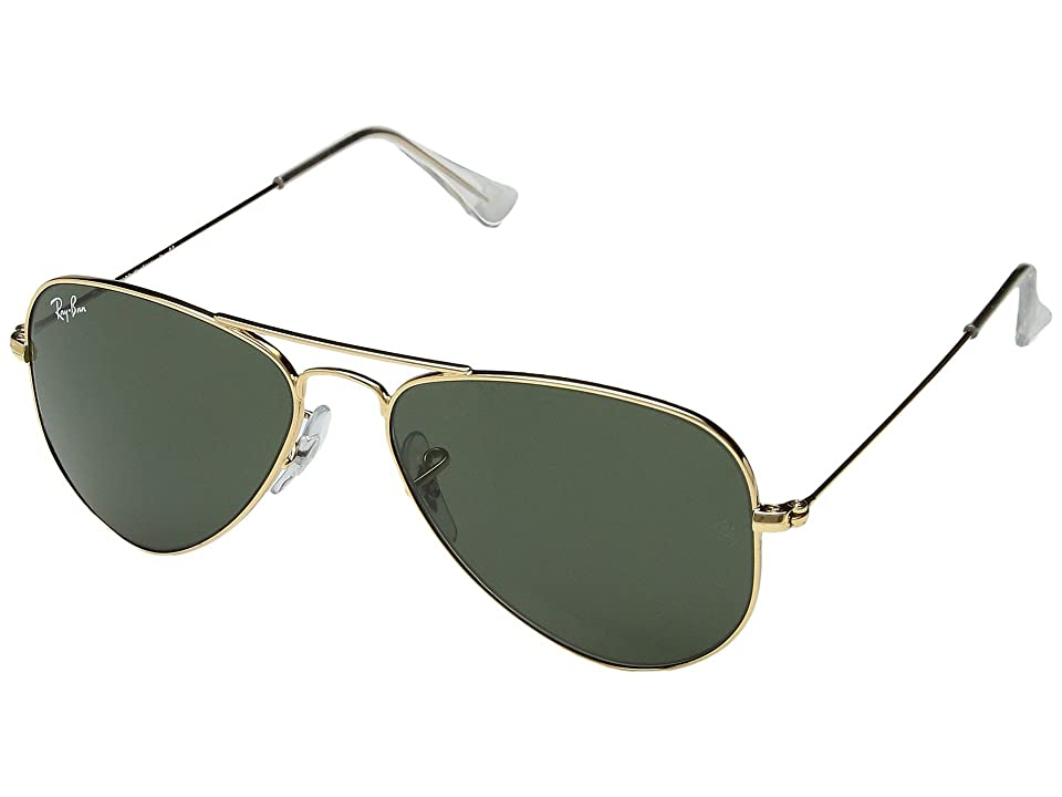 Ray-Ban RB3044 Aviator Metal 52mm (Arista/G-15xlt Lens) Sport Sunglasses