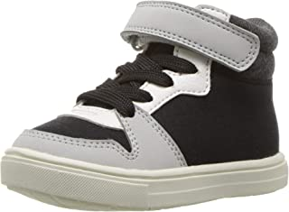 Carter's Kids Boy's Spy2-b Black High-top Sneaker