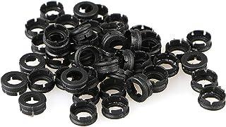 EEEKit 50 Pcs High Performance Replacement Shock Collar O Rings Broadheads Arrowheads