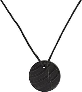 Shungite Pendant Necklace, EMF Protection Pendant | Shungite Jewelry is Trendy and Used for Chakra and Energy Balancing