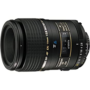 Tamron SP AF 90mm F/2.8 Di Macro 1:1 Prime Lens with Hood for Sony DSLR Camera