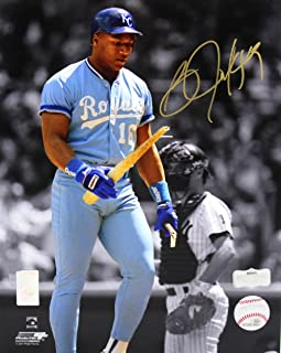 bo jackson signed picture