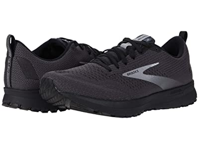 Brooks Revel 4 (Ebony/Black/Grey) Men