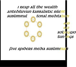 I Reap All the Wealth Antediluvian Kabbalistic Silent Subliminal Tonal Meditation (440 432 Solfeggio Tunings) - Single