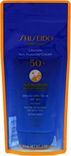 Shiseido Ultimate Sun Protector Cream SPF 50 for Unisex 2 oz Sunscreen