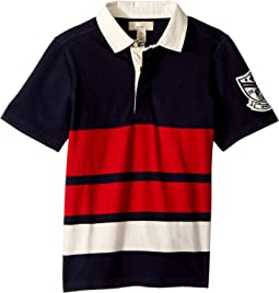 Rugby Tee (Toddler/Little Kids/Big Kids)