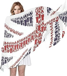Scarfs for Women Unicorn Star Moon Night Lightweight Fashion Long Shawl Wraps