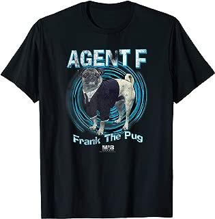 Men in Black Agent F Frank the Pug Vintage T-Shirt