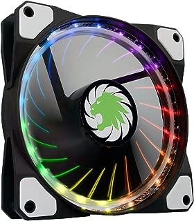 Game Max 12 cm RGB Vortex Fan LED and Ring Lighting - Black