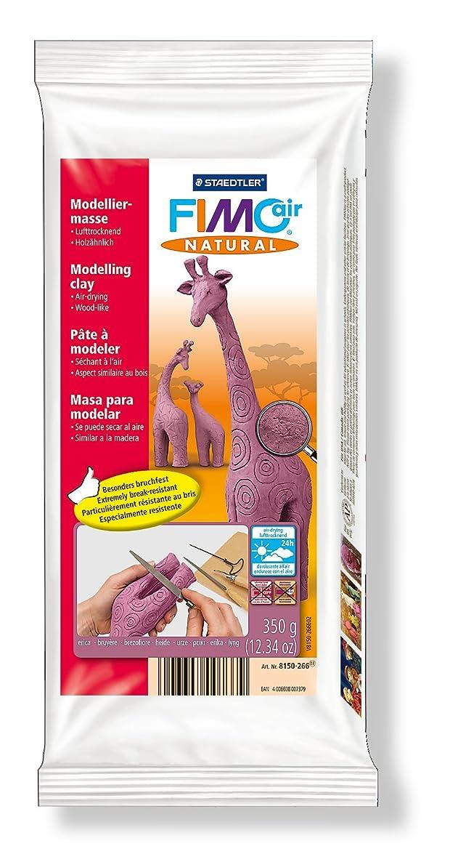 Staedtler 8150?Fimoair Natural Air-Hardening Modelling Clay 350g?–?Erika