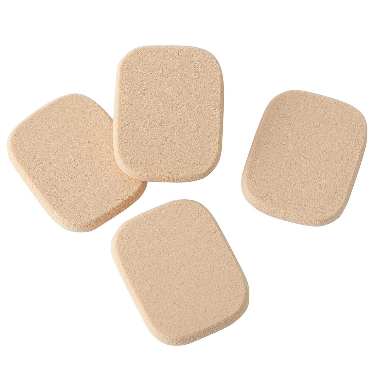 砂の温帯起きる無印良品 スポンジパフ 4個入 日本製