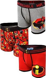 Incredibles 2 Disney Pixar Mr Incredible 3 Pack Boxer Brief for Men
