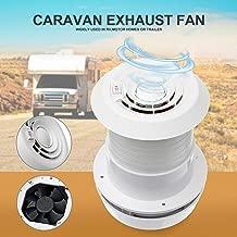 Exhaust Cooling Fan - MASO Car 12V RV Motorhome Roof Vent Ventilation Cooling Exhaust Fan Noiseless Energy-saving for Homes Trailer Travel Caravan (Fan Shell + Fan )