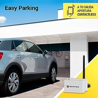 Baintex Easy Parking Apertura de la Puerta del Garaje con Móvil por Bluetooth para 5 Usuarios ¡Líbrate De Los Mandos! Compatible con Todas Las Puertas de Garaje Fácil y Rápido Salida por Contacto