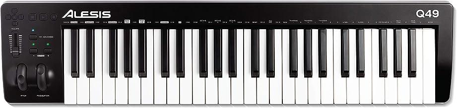 Alesis Q49 MKII - 49 Key USB MIDI Keyboard Controller with F