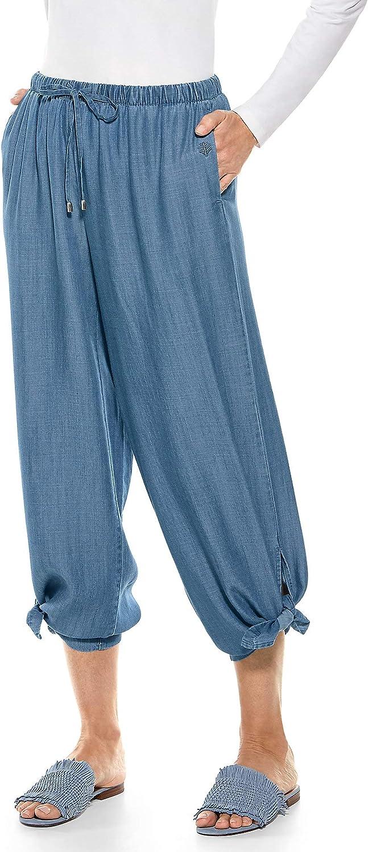 Coolibar UPF 50+ Women's Enclave Wide Leg Pants - Sun Protective