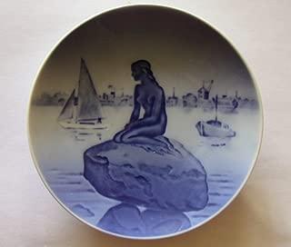 Royal Copenhagen The Little Mermaid Plate Langelinie