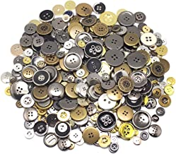 Healifty 10 Sets Sew on Snap Buttons Metal Snap Fasteners Press Studs Buttons Bronze Daisy Shape for DIY Crafts