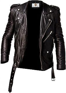 Fantastic Suprendo Lambskin Leather Biker Jacket for Men