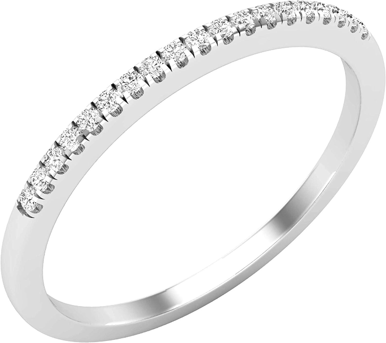 Dazzlingrock Collection 0.07 Carat ctw Free shipping Popular brand Diamond White Round Lad