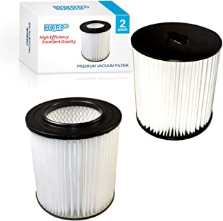 690 890 8106-01 Replacement Coaster Platinum Force 299e H-P Central Vacuum Systems HQRP 2-Pack 7 Filter for Dirt Devil Pro 390 590 990