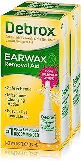 Debrox Earwax Removal Drops Earwax, 0.5oz, Pack of 2