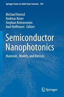 Semiconductor Nanophotonics: Materials, Models, and Devices