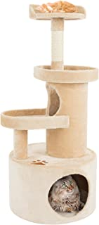 PETMAKER Cat Tree Condo with Tunnel 4 Tier with Scratching Post, 43