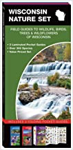 Wisconsin Nature Set: Field Guides to Wildlife, Birds, Trees & Wildflowers of Wisconsin