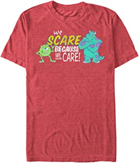 Fifth Sun Monsters Inc Men's We Scare Because We Care Monsters T-Shirt
