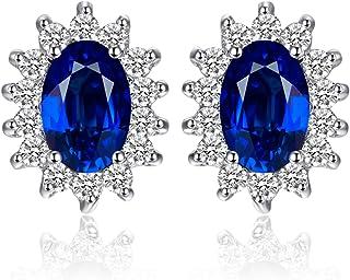 JewelryPalace Donna Naturale Granato Citrino Topazio Ametista Peridoto Sintetico Alessandrite Rubino Zaffiro Smeraldo Prin...