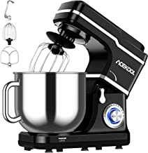 Stand Mixer, 7.5QT Kitchen Electric Food Mixer 10-Speed Tilt-Head Dough Mixer for Baking&Cake, with Stainless Steel Bowl, ...