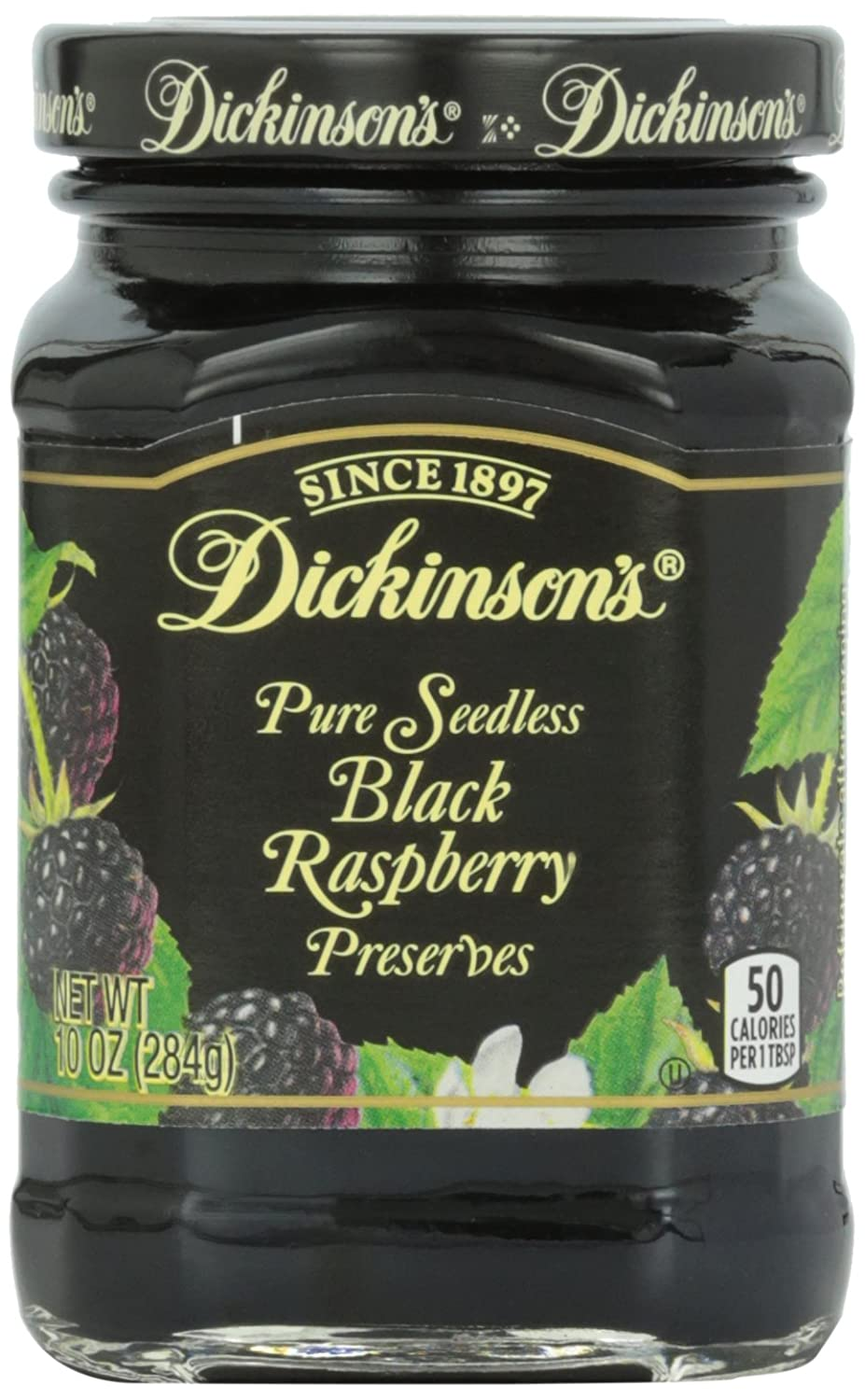 Dickinson's Seedless Free shipping on posting reviews Black Preserves Raspberry 100% quality warranty