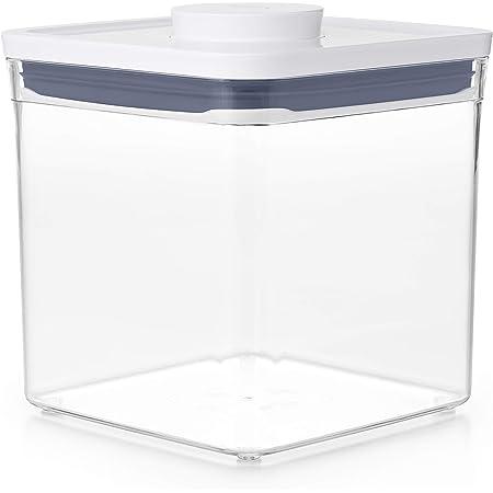 OXO Good Grips Boîte de conservation POP – Boîte de rangement alimentaire hermétique et empilable pour la cuisine - Carré 2,6 L