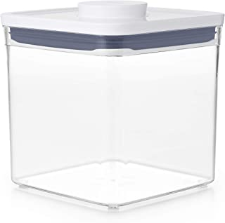 OXO Good Grips POP Container Update, Airtight, Stackable Food Storage for Sugar and More, 2.6 Litre Transparent, 2.6 L