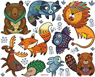 VIIRY Cartoon Fun Animal Sticker Decals,Peel and Stick...