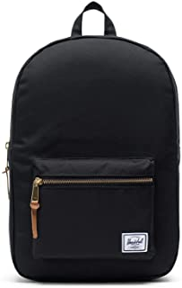 Herschel Unisex-Adult Settlement Mid-Volume Backpack, Black - 10033