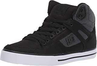 DC Men's Pure High-top Wc Tx Se Skate Shoe