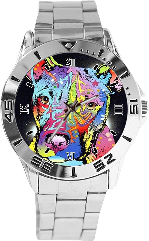 Pit Bull Art Design Analog Ranking TOP13 Wrist Classi Silver Ranking TOP2 Dial Quartz Watch