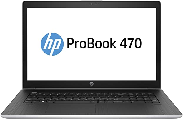 HP ProBook 470 G5 3KY84ES 43 9 cm  17 3 Zoll Full HD  Laptop  Intel Core i5-8250U  256GB SSD  8GB DDR4 RAM  NVIDIA GeForce 930MX 2GB DDR3  DOS  schwarz silber