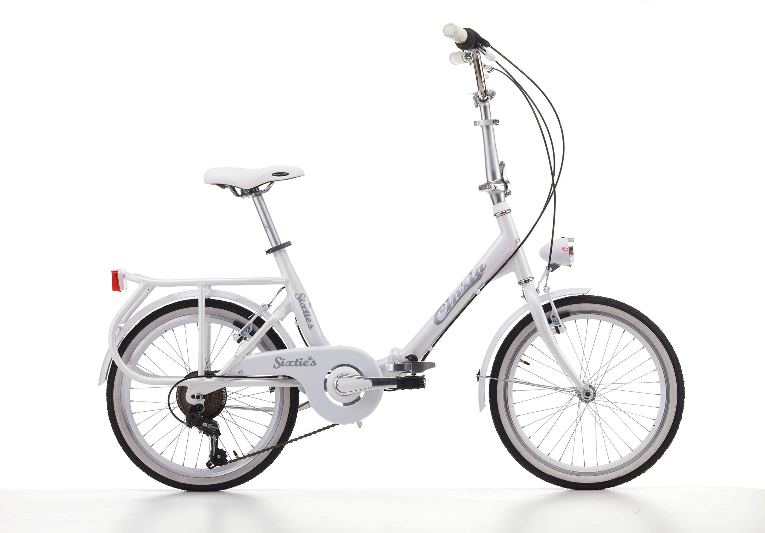 Bicicleta plegable Cicli Cinzia Sixties, cuadro de aluminio ...