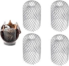 Gutter Guard Mesh 4 Pack Expandable Roof Floor Drain Filter Gutter Strainer for Stops Leaves Moss Muck Mud Blockage