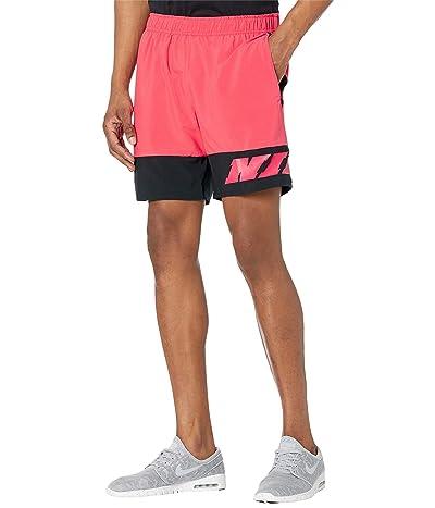 Nike Shorts 1 Sc (Light Fusion Red/Black/White) Men