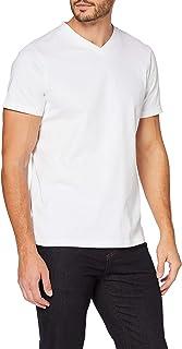 MERAKI Herren Slim Fit-T-Shirt mit rundem Ausschnitt, Bio-Baumwolle
