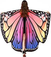 Butterfly Wings for Adult Women Large Fairy Cape Halloween Dancing Festival Costume