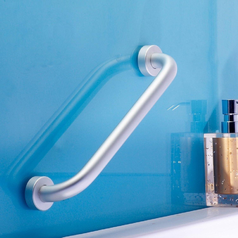 KHSKX Space barrier-free handrail aluminum Tub bathroom toilet elderly security non-slip handle 50CM
