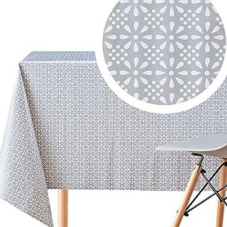 KP Home Manteles Plastico Mesa Rectangular Mantel Hule