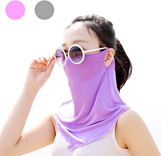 handar UV Sun Protection mask Face Neck Cover for Summer Outdoor Activities Women and Men(3 Color Pack)